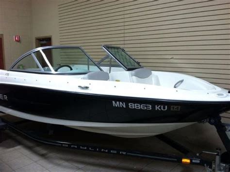 Used Boats Red Wing Mn by 2011 Bayliner 175 18 Foot 2011 Bayliner Motor Boat In
