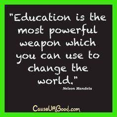 Education Is The Most Powerful Weapon Poster : quotes on pinterest mother teresa care quotes and mama quotes ~ Markanthonyermac.com Haus und Dekorationen