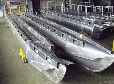 Aluminum Pontoon Tubes For Sale by Sle Of Aluminum Houseboat Pontoons The Difference
