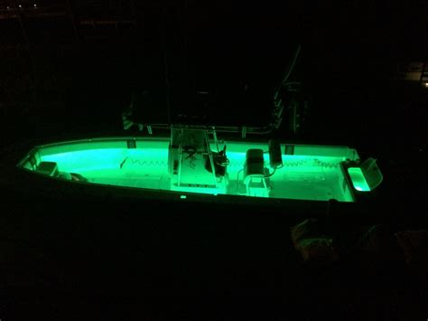 Light The Night Led Boat Lights by Post Your Boat At Night Led Lights Page 4 The Hull