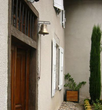 entrance door bell or gate bell in genuine bronze