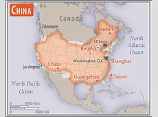 China Geography 2018, CIA World Factbook