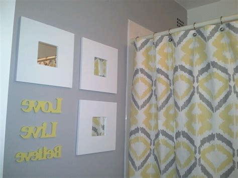 yellow gray bathroom inspiration yellow gray