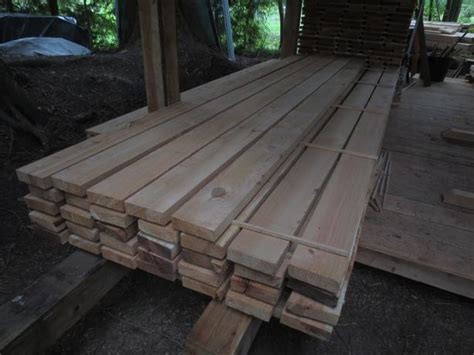2x6 and 1x6 cedar for decking and fencing 2x6 is sold
