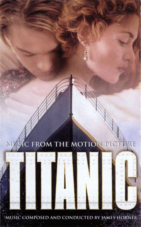 horner titanic from the motion picture cassette album at discogs
