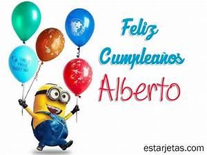 Felíz cumpleaños Alberto 7 | imágenes de Estarjetas.com