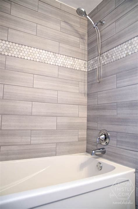 30 Grey Shower Tile Ideas And Pictures. Swivel Stool. High Back Sectional Sofas. Patio Idea. Animal Print Throw Pillows. Luxury Lighting. Marble Tile Bathroom. Square Dining Table Seats 8. Purple Bedrooms