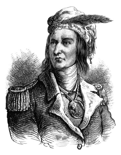 Carroll Bryant American Indians Tecumseh