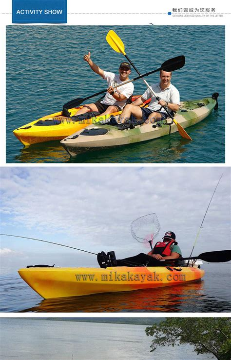 Pedal Boat Ocean by China Professional Single Ocean Pedal Boat Fishing Kayak