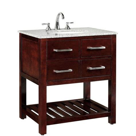 home decorators collection fraser 31 in w x 21 1 2 in d bath vanity in espresso with solid