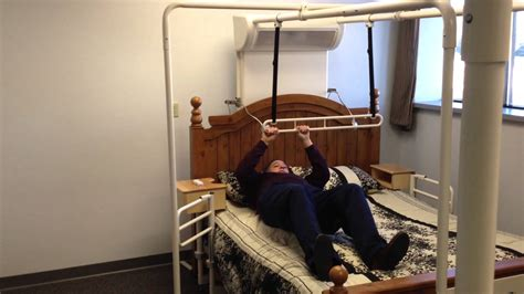 friendly beds intro to trapeze bar elderly stroke ms md parkinsons arthritis