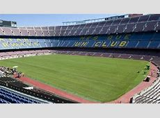 Barcelona Camp Nou now has hybrid grass for first time