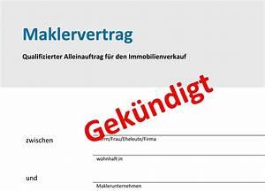 Maklervertrag Kündigen Und Verkauf An Interessent : maklervertrag k ndigen rainer fischer immobilien ~ Markanthonyermac.com Haus und Dekorationen