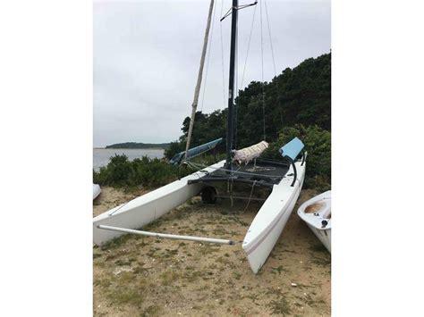 Catamaran For Sale Massachusetts by 1988 Hobie Hobie Cat 21 Sailboat For Sale In Massachusetts