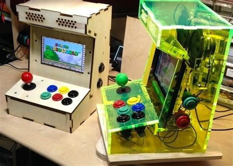 Mini Arcade Cabinet Kit by Raspberry Pi Mini Arcade Cabinet Kit Available From