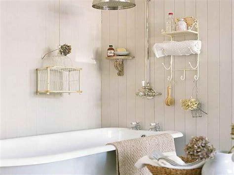 la d 233 coration d une salle de bain shabby chic