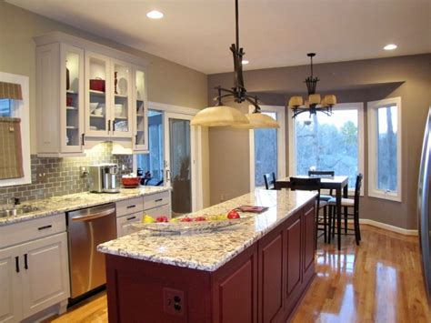 Gray Cabinets-southern Kitchen Remodel