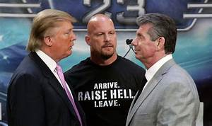 Watch US presidential candidate Donald Trump make WWE ...