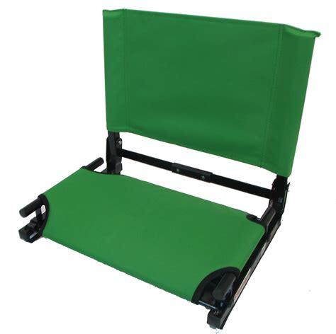embroidered stadium chair gamechanger bleacher seat with