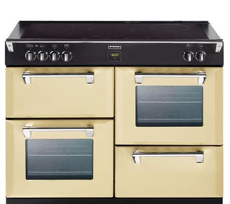 buy stoves richmond 1000ei electric induction range cooker chagne free delivery currys