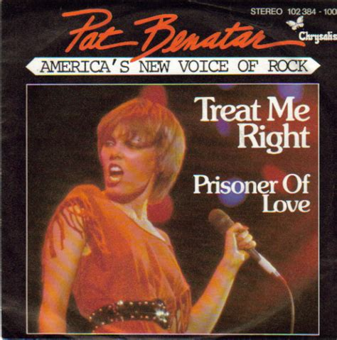pat benatar treat me right vinyl at discogs