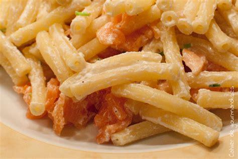 pates au saumon fum 233 sauce ricotta citronn 233 e cahier de gourmandises