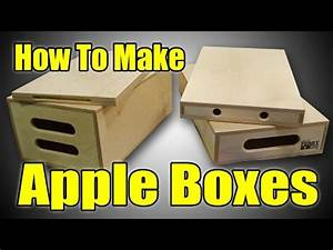 HOW TO MAKE APPLE BOXES (ep54) - YouTube