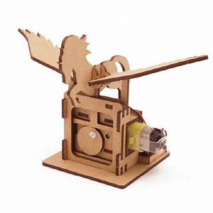 Mize DIY Wooden Motor Automata Assembly Model kits (Moving ...