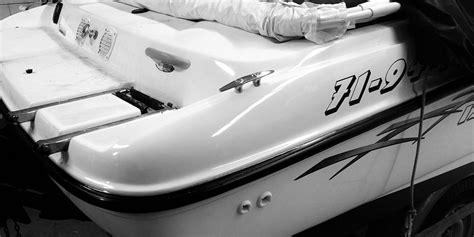 Polyester Boot Reparatie by Polyester Schade Reparatie Boot