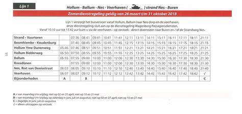 Boottijden Boot Ameland by Nieuwe Bus En Boottijden Ameland Persbureau Ameland