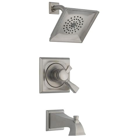 delta dryden single handle 1 spray tub and shower faucet