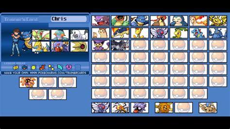 Pokemon My Trainer Card (chris) Youtube