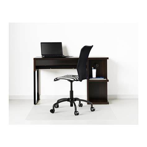 ikea micke desk with integrated storage