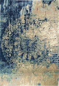 Bodenbelag Günstig Kaufen : teppich luxor living barock beige blau ~ Markanthonyermac.com Haus und Dekorationen