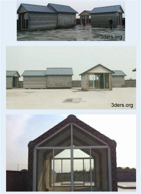 una empresa china realiza 10 casas en un d 237 a con una impresora 3d