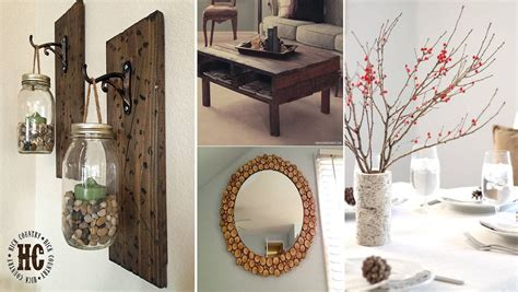 Beautiful Rustic Home Decor Project Ideas You Can