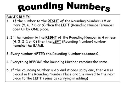 How To Round Whole Numbers  Ppt Download