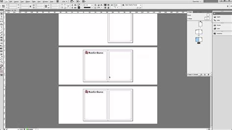 diferença page e template indesign tutorial using master pages to create templates