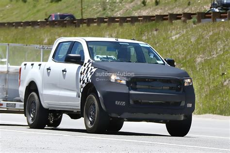 2015 ford ranger interior spied autoevolution