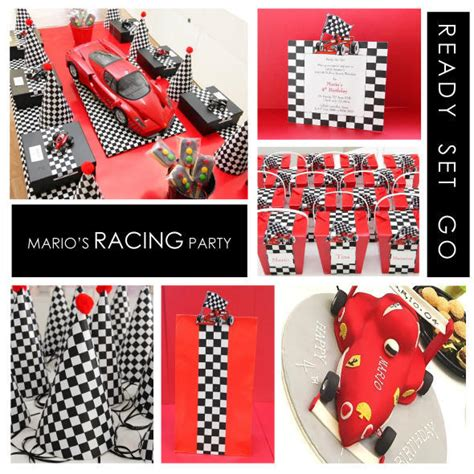 Mario's Racing Car Themed Party  Project Nursery