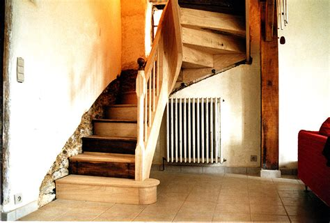 escalier 224 noyau menuisier tradition r 233 gion st malo