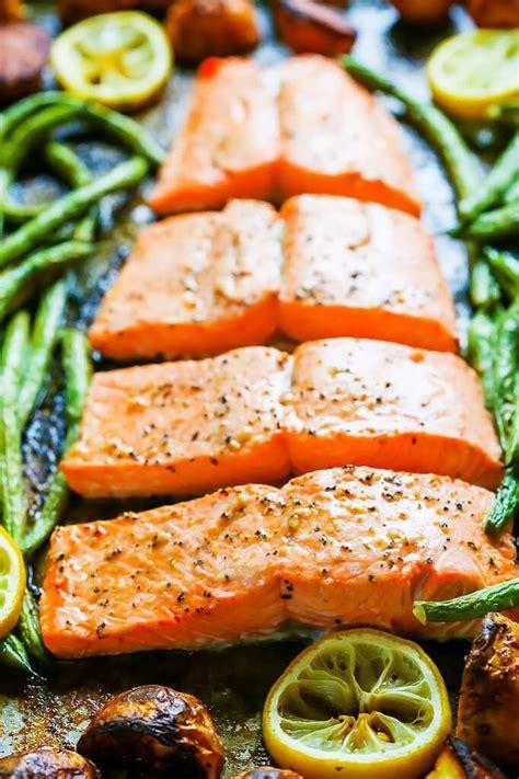 5ingredient Sheet Pan Salmon  Platings & Pairings