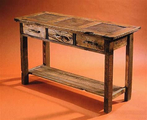 Rustic Console And Sofa Tables In Barnwood And Stone Tile. Slate Sink. Pool House Designs. Wide Plank Hardwood Flooring. Tripod Table Lamp. Cincinnati Home Builders. Mid Century Modern Style. Sleek Office Chair. Apartment Kitchen Ideas