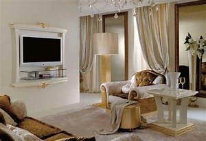 Wohnzimmer Farbe Gestaltung : italienische wohnzimmer 52 prima interieur ideen ~ Markanthonyermac.com Haus und Dekorationen