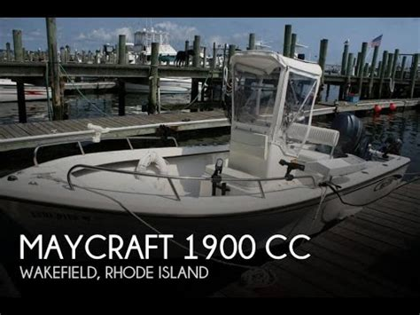 Maycraft Boats Youtube by Unavailable Used 2013 Maycraft 1900 Cc In Wakefield