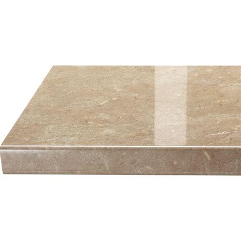 plan de travail stratifi 233 granit 233 beige l 300 ep 38 mm leroy merlin