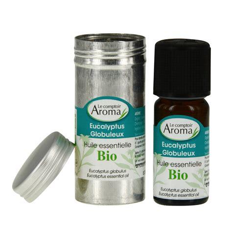 le comptoir aroma huile essentielle bio eucalyptus globuleux flacon 10ml pharmacie en ligne