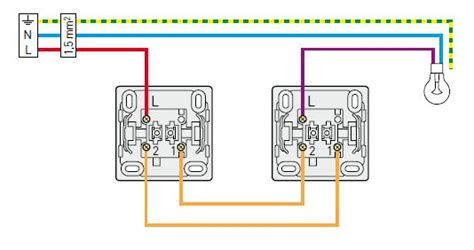 schema interrupteur 3 fils