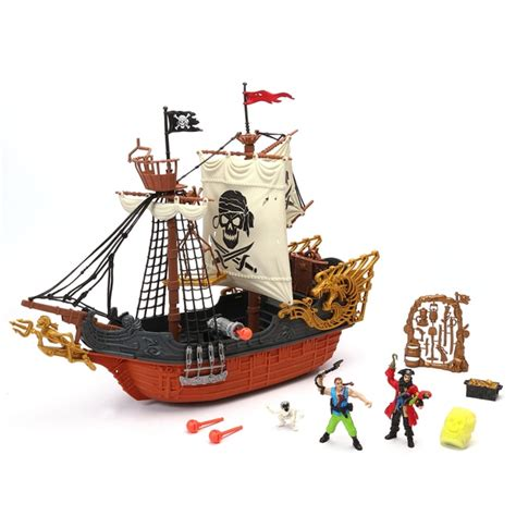 Pirate Boat Toy by Deluxe Captain Pirate Ship Playset Pirates Uk