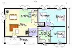 hd wallpapers plan maison 4 chambres demi niveau wallpaper-mobile ... - Plan Maison Demi Niveau 4 Chambres